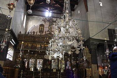 Church of the Nativity iconostasis 2010 12.jpg