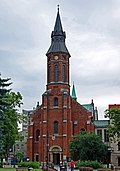Church of the Our Lady of Lourdes, 37 Misjonarska street, Krakow, Poland.jpg