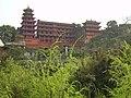 Ci qi kou,bao lun si(磁器口,宝轮寺) - panoramio.jpg
