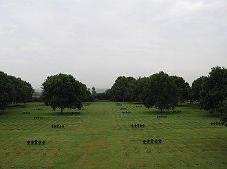 La Cambe - German military cemetery