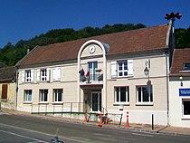 Cinqueux (60), nouvelle mairie, rue de Liancourt.jpg