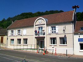 The new town hall in Cinqueux