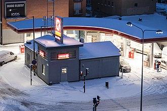 Circle K - Circle K station in Stockholm