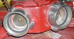 Fire hydrant - Clapper valve