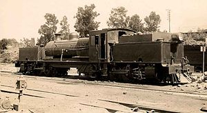 South African Class GK 2-6-2+2-6-2 - NCCR no. G2, later SAR Class GK no. 2341, c. 1925