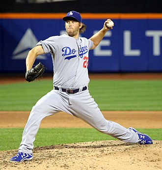 Clayton Kershaw - Kershaw with the Los Angeles Dodgers in 2015