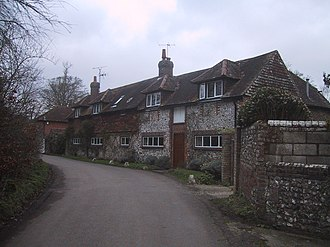 Clayton, West Sussex - Image: Clayton village