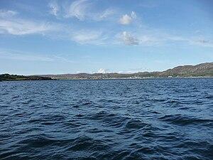 Gairloch - Image: Clear blue sky over Loch Gairloch