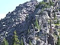 Climbing Lincoln Peak, Glacier National Park, Montana July 2007 - panoramio - Gary Miotla (1).jpg