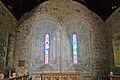 Clonfert Cathedral Choir East Window 2009 09 17.jpg