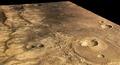 Close to Ma'adim Vallis, perspective view ESA238845.tiff