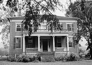 National Register of Historic Places listings in Caldwell County, North Carolina - Image: Clover Hill, State Route 1514, Patterson (Caldwell County, North Carolina)