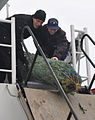 Coast Guard Cutter Mackinaw arrives in Chicago with 1,200 Christmas trees 131206-G-PL299-027.jpg