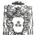 Coat of arms of Bishop of Samogitia Józef Karp.PNG