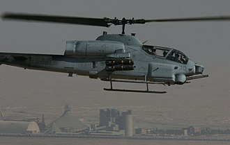 HMLA-369 - HMLA-369 Cobra over Al Qaim, Iraq in November 2005