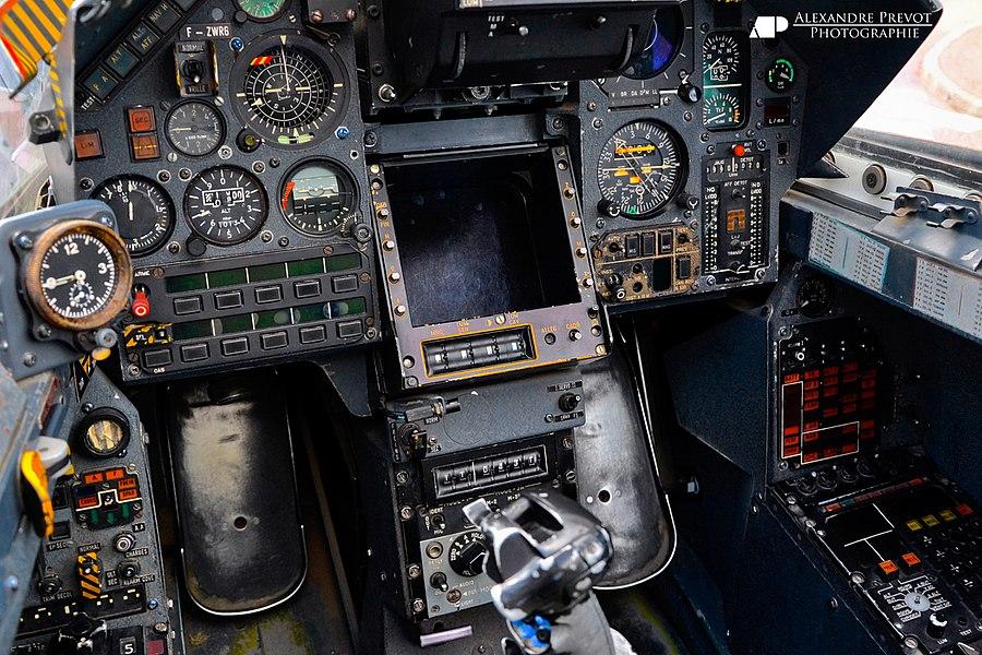 Cockpit Dassault Mirage 2000