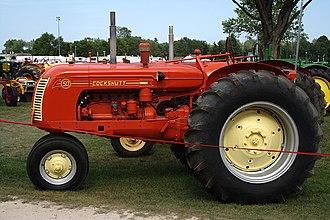 Cockshutt Plow Company - Restored Cockshutt 50 tractor