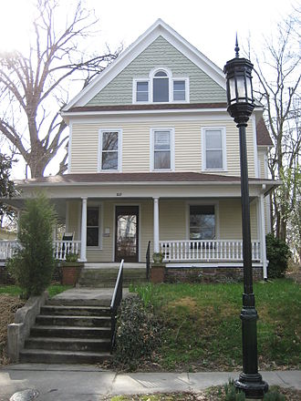 College Hill, Greensboro, North Carolina - Typical nineteenth-century residence in College Hill