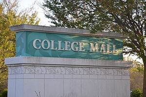 College Mall - Image: College Mall Sign Large