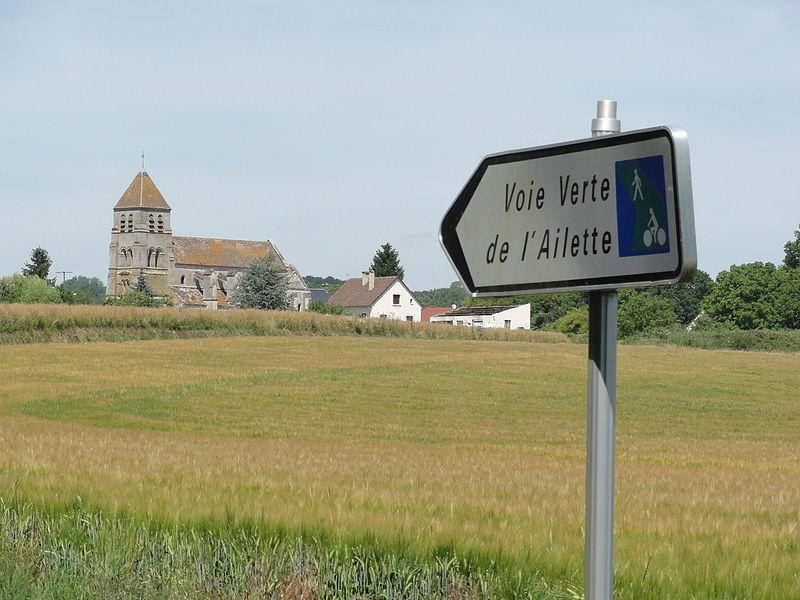 Colligis-Crandelain (Aisne) Voie verte de l'Ailette
