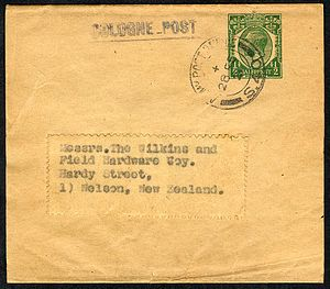 The Cologne Post - Newspaper wrapper from The Cologne Post postmarked by Army Post Office S40 on 28.05.21