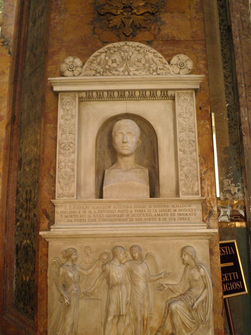 Kolonn - s Andrea delle Frate grav Rudolph Schadow O9250032.JPG