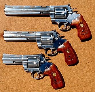 Colt Anaconda - .44 Magnum Colt Anaconda in three barrel lengths
