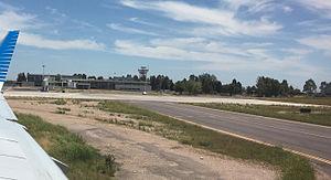 Comandante Espora Airport - The terminal