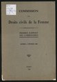 Commission des droits civils de la femme - Premier Rapport des Commissaires (1930-1931).pdf