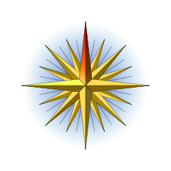 Compass Rose nolabels32.svg