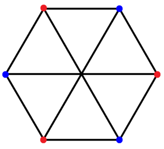 Cross-polytope - Image: Complex polygon 2 4 3 bipartite graph