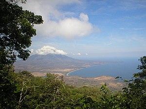 Concepción from Maderas (landscape)