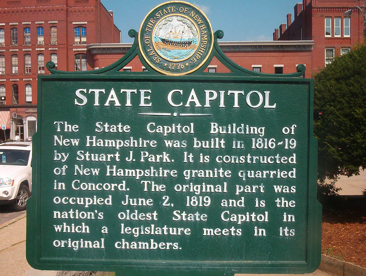 new hampshire historical markers