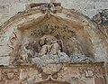 Conjunt escultòric de la portalada de l'església de la cartoixa de Valldecrist.JPG