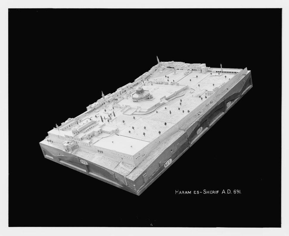 Conrad Schick Temple Mount model