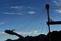 Construction of the new Mike OCallaghan-Pat Tillman Memorial Bridge over Hoover Dam (3468492526).jpg