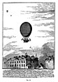 Contemporary engraving of Blanchard's Balloon Ascent 1784. Wellcome M0010326.jpg