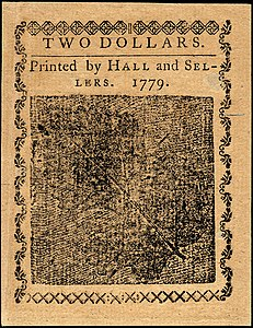 Continental Currency $2 banknote reverse (January 14, 1779).jpg