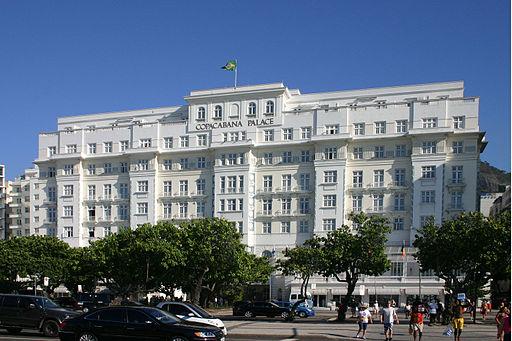 Copacabana Palace Hotel Rio