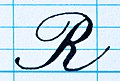 Copperplate letter upper case R.JPG