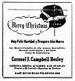 Coronel Besley Riding Academy advertisement from El Tucsonense, 1944-12-22.jpg