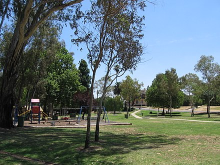 Parkland in Corowa, near the Murray River CorowaParkland.JPG