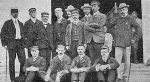 Germany at the 1904 Summer Olympics - Members of the German team at the 1904 Summer Olympics