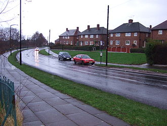 Public housing in the United Kingdom - Council houses at Hackenthorpe, South Yorkshire