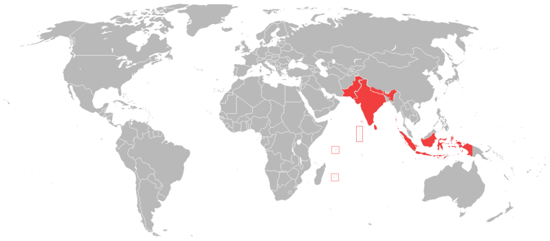 File:Countries using the Rupee.png