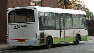 Plaxton Primo - A Plaxton Primo rear operated by Countryliner.
