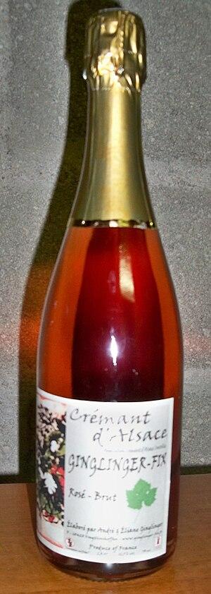 Crémant d'Alsace - Crémant d'Alsace rosé