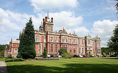 Crewe Hall (Südfassade)
