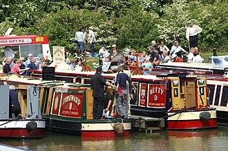 Crick, Northamptonshire - Crick Boat Show