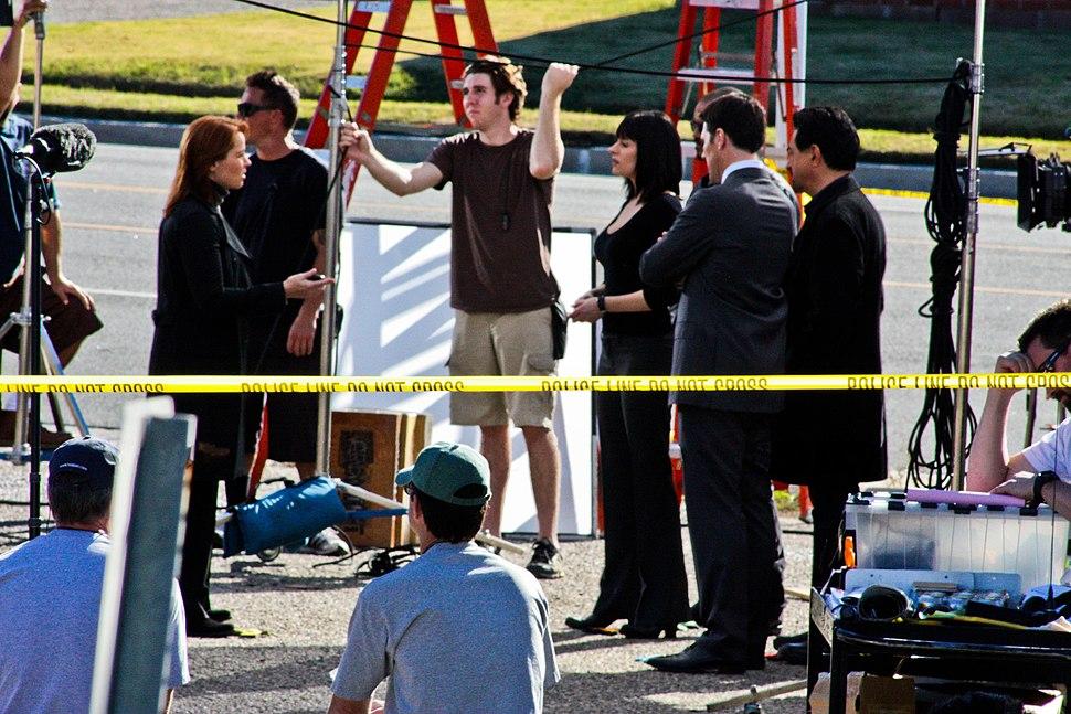 Criminal Minds scene (Season 6)